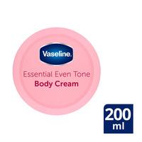 Vaseline essential even tone body cream 200 ml