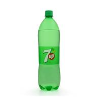 7-Up Soft Drink Plastic Bottle 1.125L