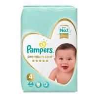 Pampers premium care 4 jumbo pack 9 - 14 kg 44 diapers