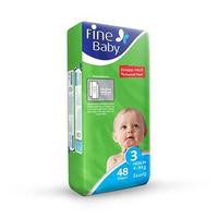 Fine Diapers Jumbo Medium 48 Pads