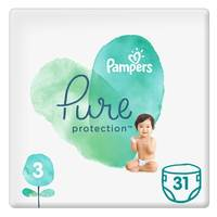 Pampers Pure Baby Diaper Value Pack Size 3 31 Count