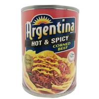 Argentina Corned Beef Hot & Spicy 260g