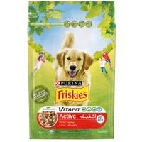Purina Friskies Active Dog Food with Beef 3kg