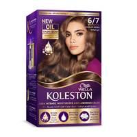 Wella Koleston Permanent Hair Color Kit 6/7 Chocolate Brown