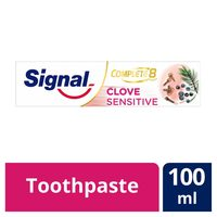 Signal tooth paste complete 8 clove sensitive 100 ml