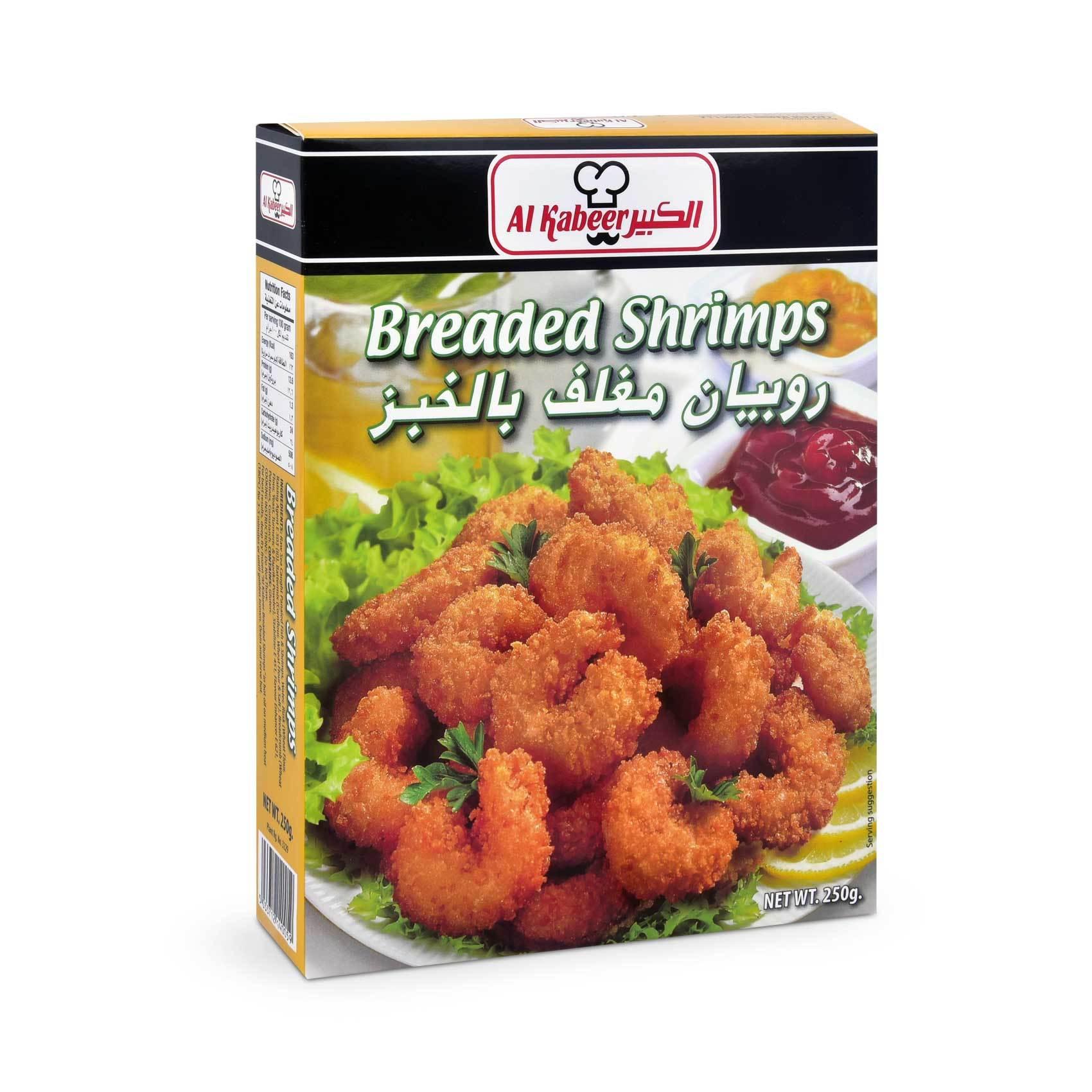 Buy Al Kabeer Breaded Shrimp 250 G Online Shop Frozen Food On Carrefour Saudi Arabia