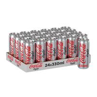 Coca cola light can 24 x 330 ml