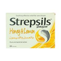 Strepsils Honey and Lemon 24 Lozenges