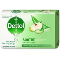 Dettol Soothe Antibacterial Bar Soap 165g