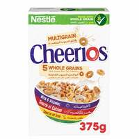 Cheerios Nestle Multi Whole grains Breakfast Cereal Pack 375g