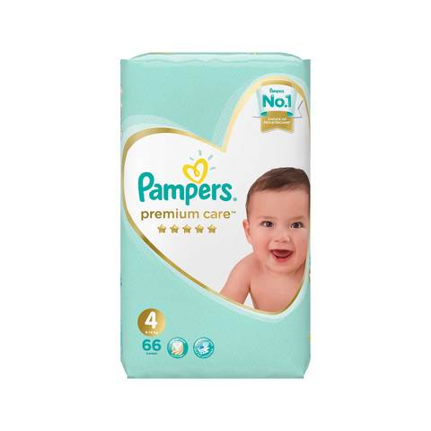 Buy Pampers Premium Care Diapers Size 4 Maxi Jumbo Pack 66 Diapers Online Shop Baby Products On Carrefour Saudi Arabia