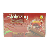 Alokozay Primum Cinnamon Tea Bags 50g x Pack of 25
