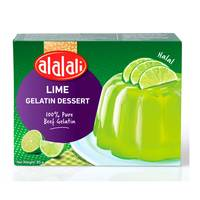 Al Alali Lime Gelatin Dessert 85g