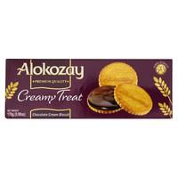 Alokozay Creamy Treat Chocolate Cream Biscuits 170g
