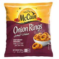 McCain Frozen Onion Rings 400g