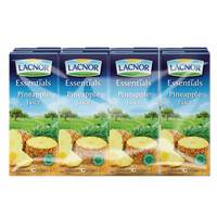 Lacnor Essentials Pineapple Juice 180ml x Pack of 8