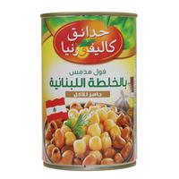 California Garden Canned Fava Beans Lebanese Recipe 450g