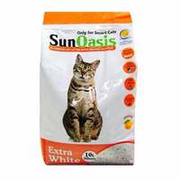 Sun Oasis Clumping Cat Litter with Orange Scented 10L`