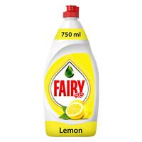 Fairy Lemon Dish Washing Liquid 750ml