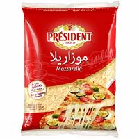 President Shredded Mozzarella 900g