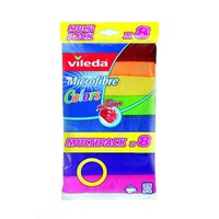 Vileda Microfibre Roll Pack Of 8