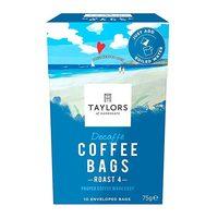 Taylors Decaffe Coffee Bags Roast 4 75g