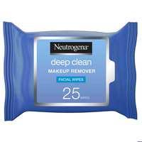 Neutrogena Makeup Remover Facial Wipes Deep Clean 25 Counts