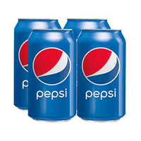 Pepsi Soft Drink Can 330ML X4