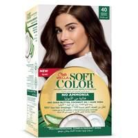 Wella soft color hair color kit 40 medium brown