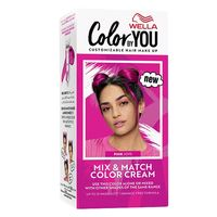 Wella mix and match hair color cream pink joys