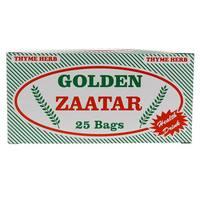 Golden Thyme Herb Zaatar 25 Bags