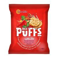 Sunwhite Rice Puffs Thai Spice 100g