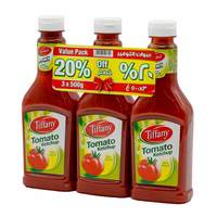 Tiffany Tomato Ketchup 3 In 500 g