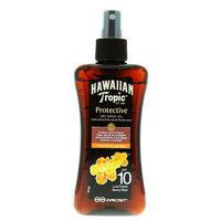 Hawaiian Tropic Coconut and Papaya Protective Dry Oil Spray 200ml