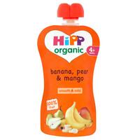 Hipp Organic Banana Pear and Mango Juice 90g