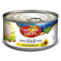 California Garden Canned White Solid Tuna In Sunflower Oil 170g