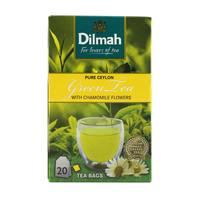 Dilmah Pure Ceylon Green Tea with Chamomile Flowers Tea 20 Tea Bags