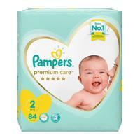 Pampers premium care 2 jumbo pack 84 diapers