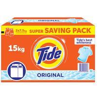 Tide Top Load Detergent Powder Original 15kg