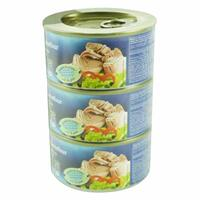 Carrefour Light Meat Tuna Chunks In Water 185g x Pack of 3