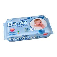 Bambi wet wipes 64 sheets
