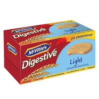 McVities Digestive Light Biscuits 250g