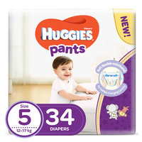 Huggies Pants Diapers Size 5 34 Count 12-17 kg