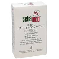 Sebamed Liquid Face and Body Wash for Sensitive Skin 200ml