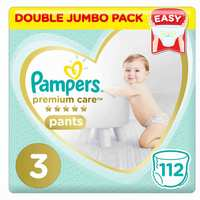 Pampers Premium Care Baby Diapers Pants Size 3 112 Counts