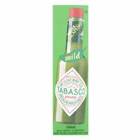 Tabasco Jalapeno Green Pepper Mild Sauce 150ml