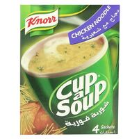 Knorr Cup-A-Soup Chicken Noodles Soup 20g x Pack of 4