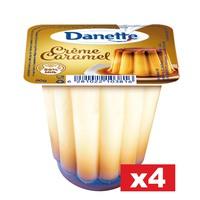Danette Dessert Creme Caramel 80gx4