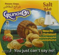 Crunchos Potato Chips Salt 25g x Pack of 14
