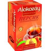 Alokozay Peach Flavoured Black 25 Tea Bags